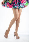 Beautiful woman's legs — Stock Photo
