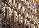 Facade of a building — Stock Photo