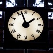 Luminous Clock — Stock Photo