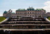 Fountains of Belvedere Palace — ストック写真