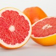 Stock Photo: Appetizing grapefruits