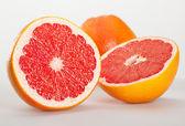 Appetizing grapefruits — Stock Photo