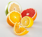 Juicy appetizing fruits — Foto Stock