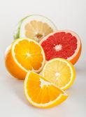 Juicy appetizing fruits — Stock Photo
