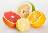 Juicy appetizing fruits — Stock Photo