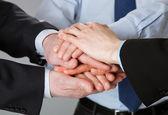 Successful business team — Stock Photo