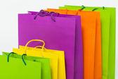 Bolsas multicolores — Foto de Stock
