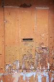 Weathered door — Stockfoto