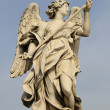 Bernini's statue of angel - Stock Photo