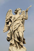 Bernini's statue of angel — Stock Photo