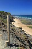 Carriagem beach overview — Stock Photo