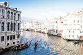Canal grande i venedig — Stockfoto
