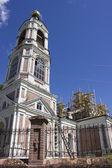 Restoration of an old beautiful church — Stock Photo