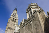 Saint Mary Cathedral of Toledo Spain — Stock Photo