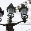 Parisian lamppost — Stock Photo