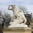 Sculptures in Tuileries Garden in Paris, France. — Stock Photo