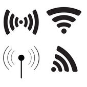 Wifi icon set. — Stock Vector