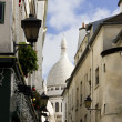 Stock Photo: Basilicof Sacre-Coeur