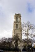 Věž saint-jacques — Stock fotografie