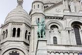 Sculpture of Sacre Coeur, Paris — Stock Photo
