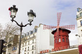 Moulin Rouge Building, Paris — Stock Photo