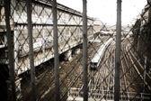 Strade di accesso alla stazione ferroviaria — Foto Stock