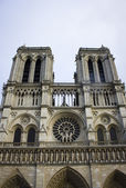 Notre dame fragment — Stock Photo