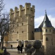 Alcazar of Segovia — Stock Photo