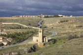 Segovia church La Vera Cruz 2 — Stock Photo