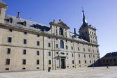 Escorial monastery entrance — Stock Photo