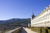 Castle Escorial near Madrid Spain — Stock Photo