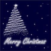 Christmas tree 2 — Stock Vector