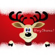 Reindeer — Vector de stock #36823111