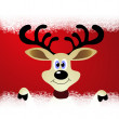 Reindeer — Vector de stock #36823113