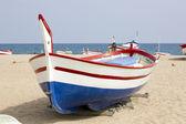 Wooden fishing boat spain — Stock Photo