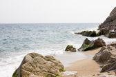 Rocky shore — Stock Photo