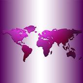 世界地图 — 图库矢量图片