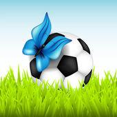 Ballon de soccer — Vecteur
