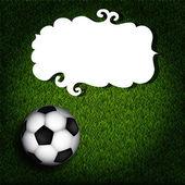 Football banner — Stock Vector
