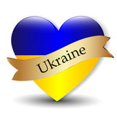 Love Ukraine — Stock Vector