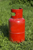 Propane gas bottle — Stock Photo