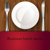 Restaurant background — Stock Vector