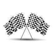 赛车标志 — 图库矢量图片