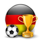 Germany football trophies — ストックベクタ