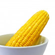 Stock Photo: Corn Cob in Bowl