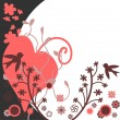 Pretty card nature elements — Stock Vector #12059982