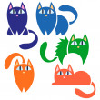 Kitty set — Stock Vector #12060169
