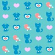Royalty-Free Stock Vector Image: Cute childlike seamless pattern