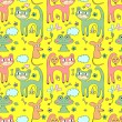 Cute childish seamless pattern — Stock Vector #14862907
