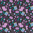 Cute childish seamless pattern — Stock Vector #15740621